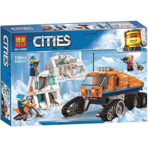 """Конструктор Bela 10995 Cities """"Грузовик ледовой разведки"""""""