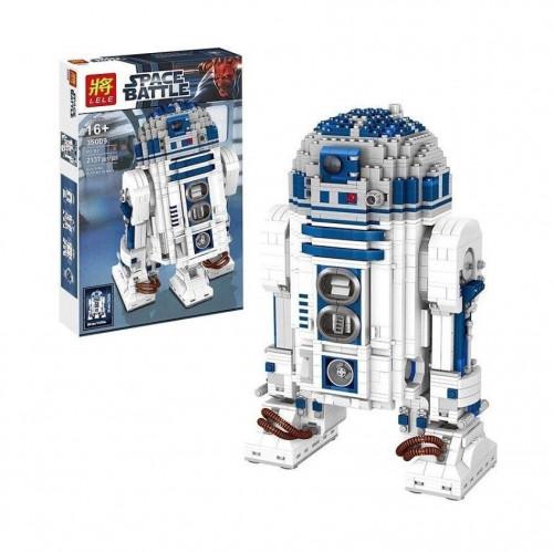 "Конструктор Lele 35009 ""Дроид R2-D2"" Space battle"