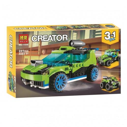 """Конструктор Bela 11046 Create """"Суперскоростной раллийный автомобиль"""""""