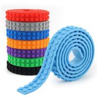 Гибкая самоклеющаяся лента для LEGO-совместимых конструкторов