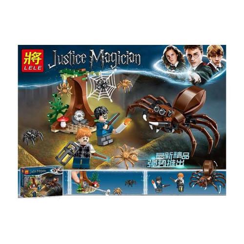 Купить Конструктор Lele 39150 Justice Magician Логово Арагога