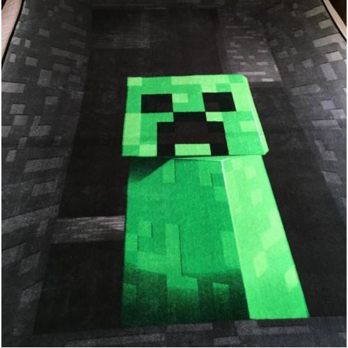 "Pled, Плед ""Крипер"" Майнкрафт, Minecraft  - купить со скидкой"