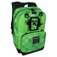 """Рюкзак Jinx Minecraft """"Крипер из стены"""" Creepy Creeper зеленый"""
