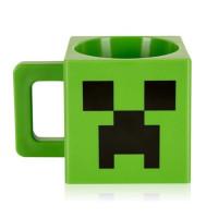 Кружка Minecraft Creeper пластиковая