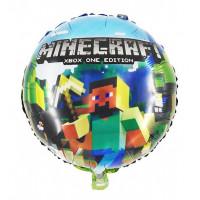 """Воздушный шар """"Стив с киркой"""" Minecraft"""