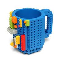 Кружка Build-on Brick синяя 350 мл