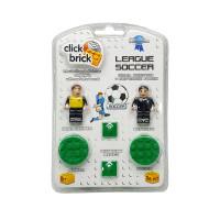 """Набор фигурок """"Вратарь и судья"""" Click Brick APT001019 Goal Keeper and Referee"""