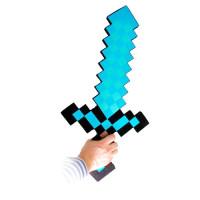 Алмазный меч Майнкрафт (вариант 2) 60 см