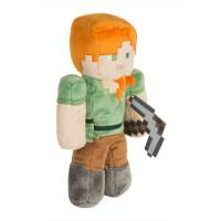 """Большая плюшевая игрушка Minecraft """"Алекс"""" 30 см"""