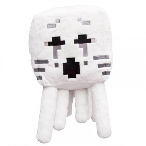 """PL-M-9, Мягкая игрушка Minecraft """"Гаст"""" с черными глазами, 15см, Jazwares  - купить со скидкой"""