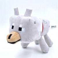 "Мягкая игрушка Minecraft ""Волк"" (Wolf), 17см"
