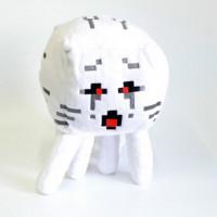 """Мягкая игрушка Minecraft """"Гаст"""" с красными глазами, 15 см"""