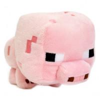 """Мягкая игрушка Minecraft """"Поросенок"""" (Pig), 13 см"""