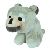 "Мягкая игрушка Minecraft ""Волчонок"" (Baby Wolf) 23см"